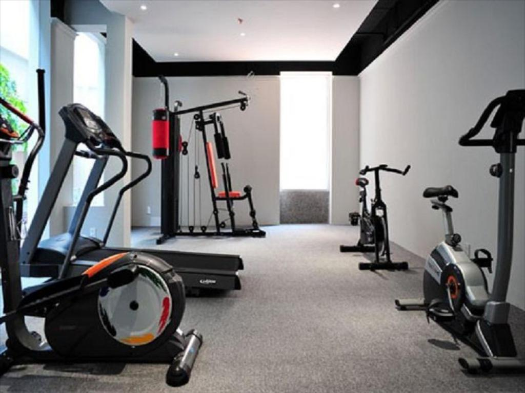 Fitness center DB Court Serviced Apartment – Managed by Dragon Fly