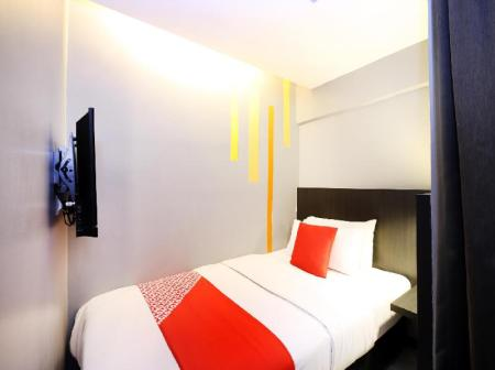 Standard Single Room - Room plan OYO 416 Grid 9 Hotel
