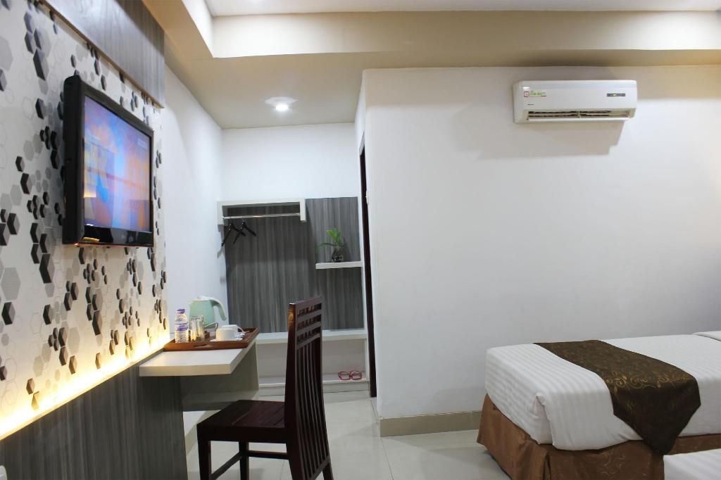 Standard Twin Bed - Room plan Grand Hotel Jambi