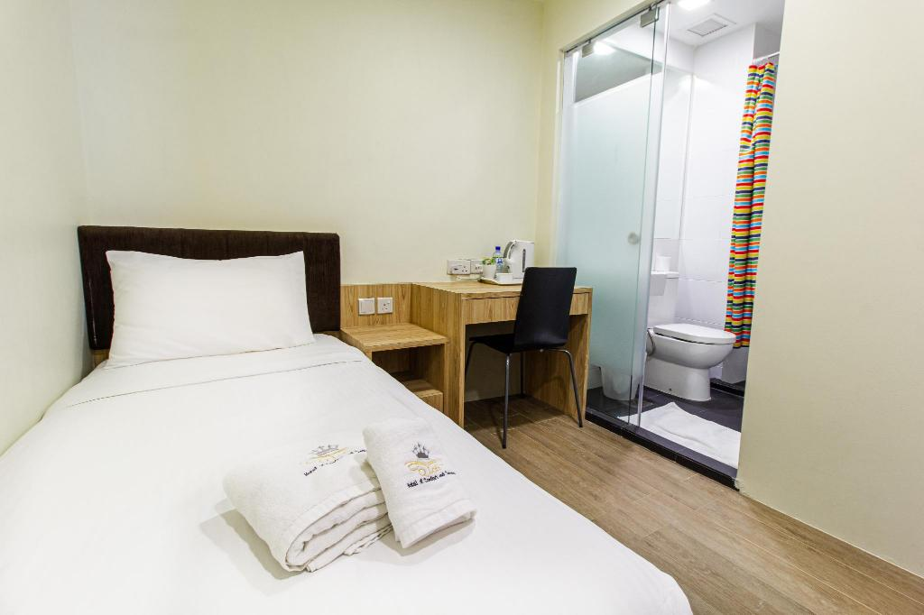 Standard Single Room without Windows - Bed Q Loft Hotels@Mackenzie