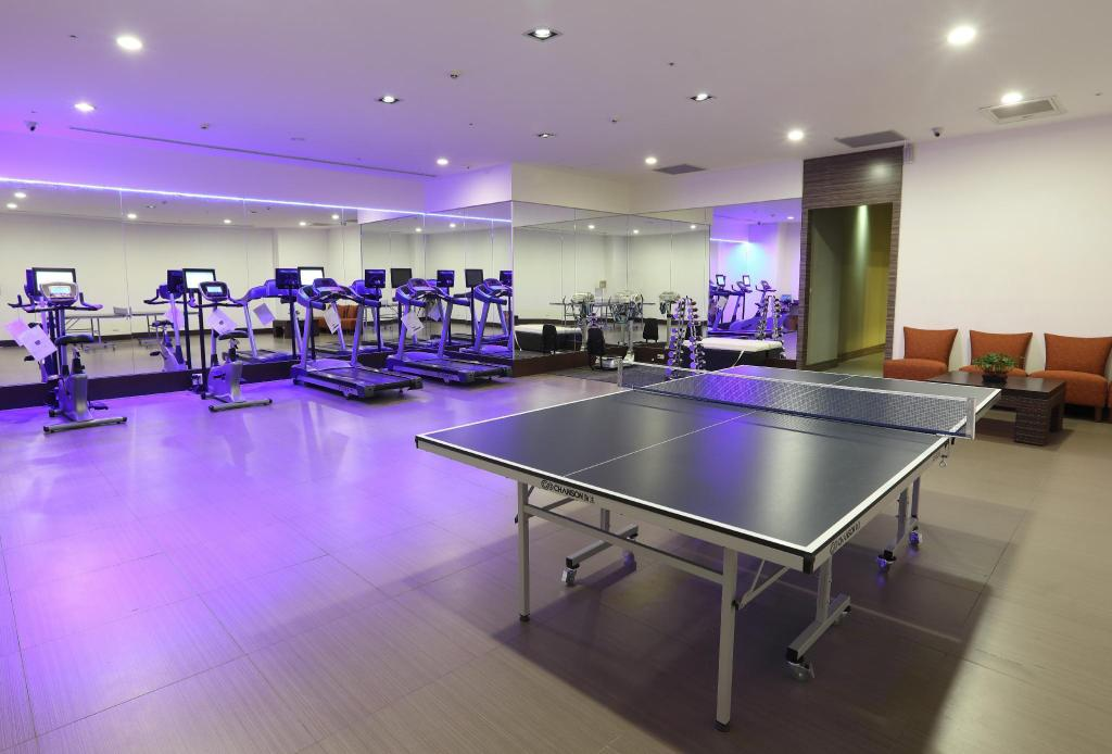 Fitness center Lakeshore Hotel Hualien