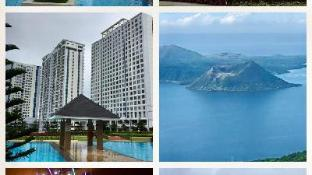 TAGAYTAY WIND  CONDO FURNISHED,3BEDS, 4PAX WIFI AC