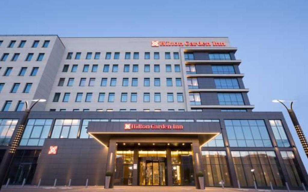 Entrance Hilton Garden Inn Orenburg