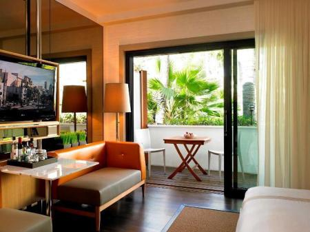 Cabana cu cameră cu balcon The Hollywood Roosevelt