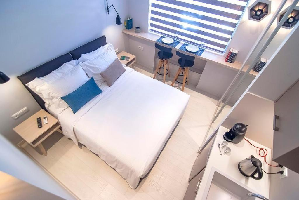 Economy Double - Room plan Acropolis Stay Hotel Athens