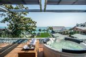 Luxury Beachfront, Sunsky Villa Huahin