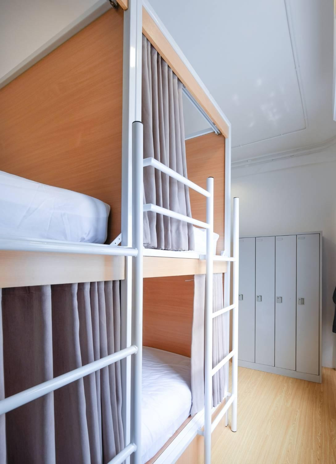 1 Posto Letto in Dormitorio Misto con 4 Letti (1 Person in 4-Bed Dormitory - Mixed)