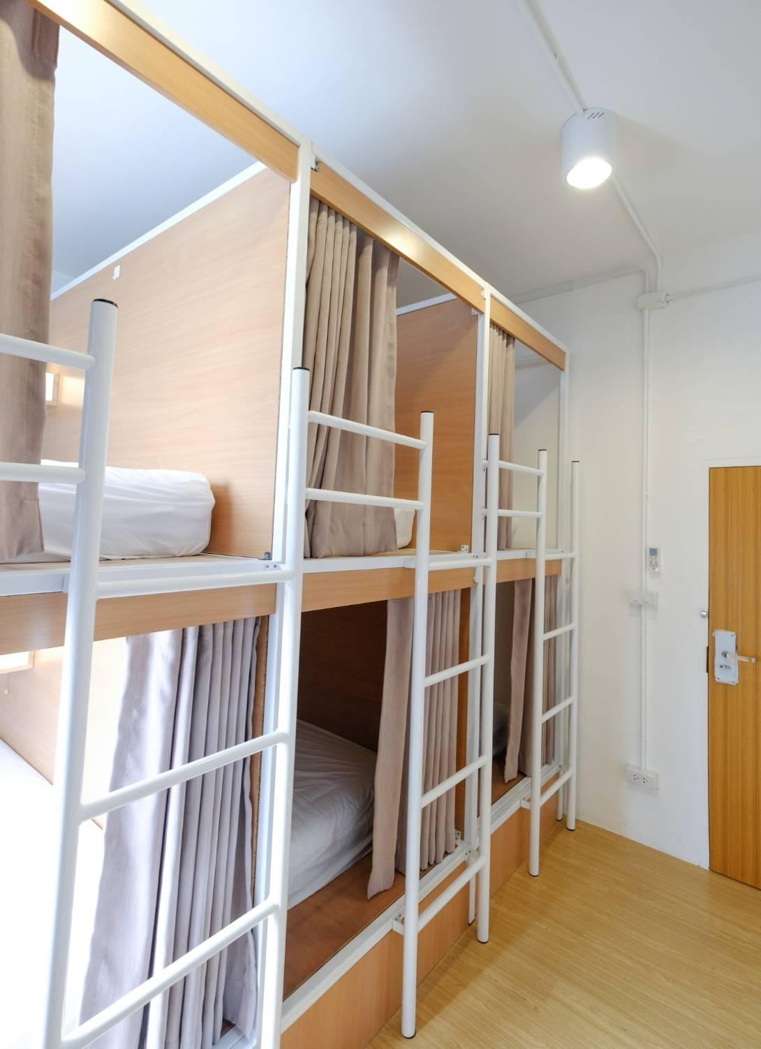 1 Posto Letto in Dormitorio Femminile con 6 Letti (1 Person in 6-Bed Dormitory - Female Only)