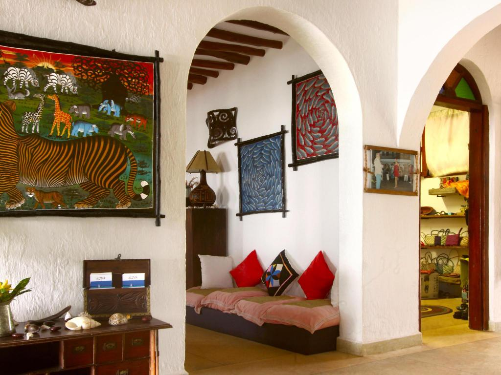 Interior view Villa Kiva Boutique Hotel