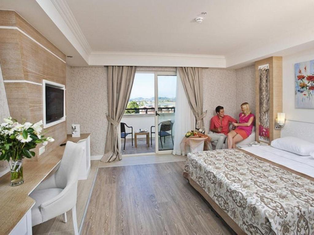 Crystal Sunset Luxury Resort Spa In Manavgat Room Deals