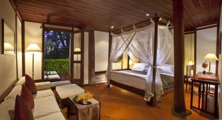 Deluxe (3 Adults) - Room plan 3 Nagas Luang Prabang MGallery by Sofitel