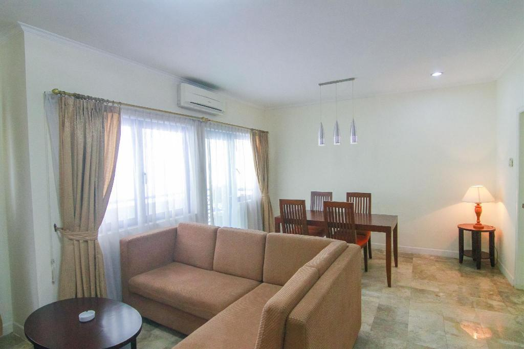 See all 6 photos 1BR European Style Spacious Kemang Apt By Travelio