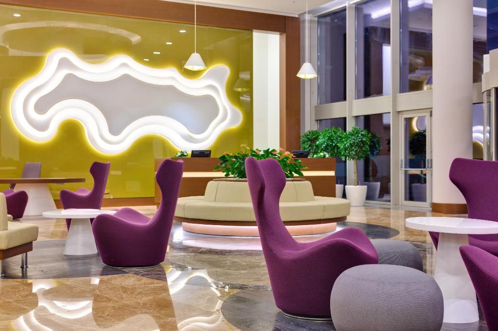 Lobby Radisson Blu Resort & Congress Centre Sochi
