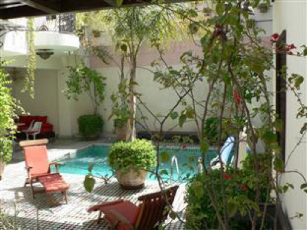 Piscina Dar Doukkala Bed and Breakfast