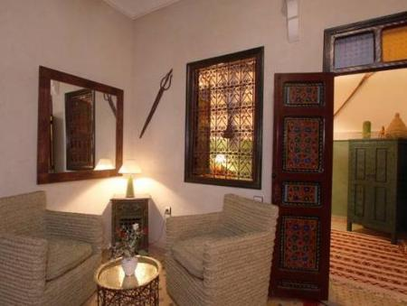Interior view Riad Andalla