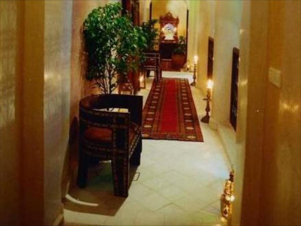 Interior view Riad Bahja