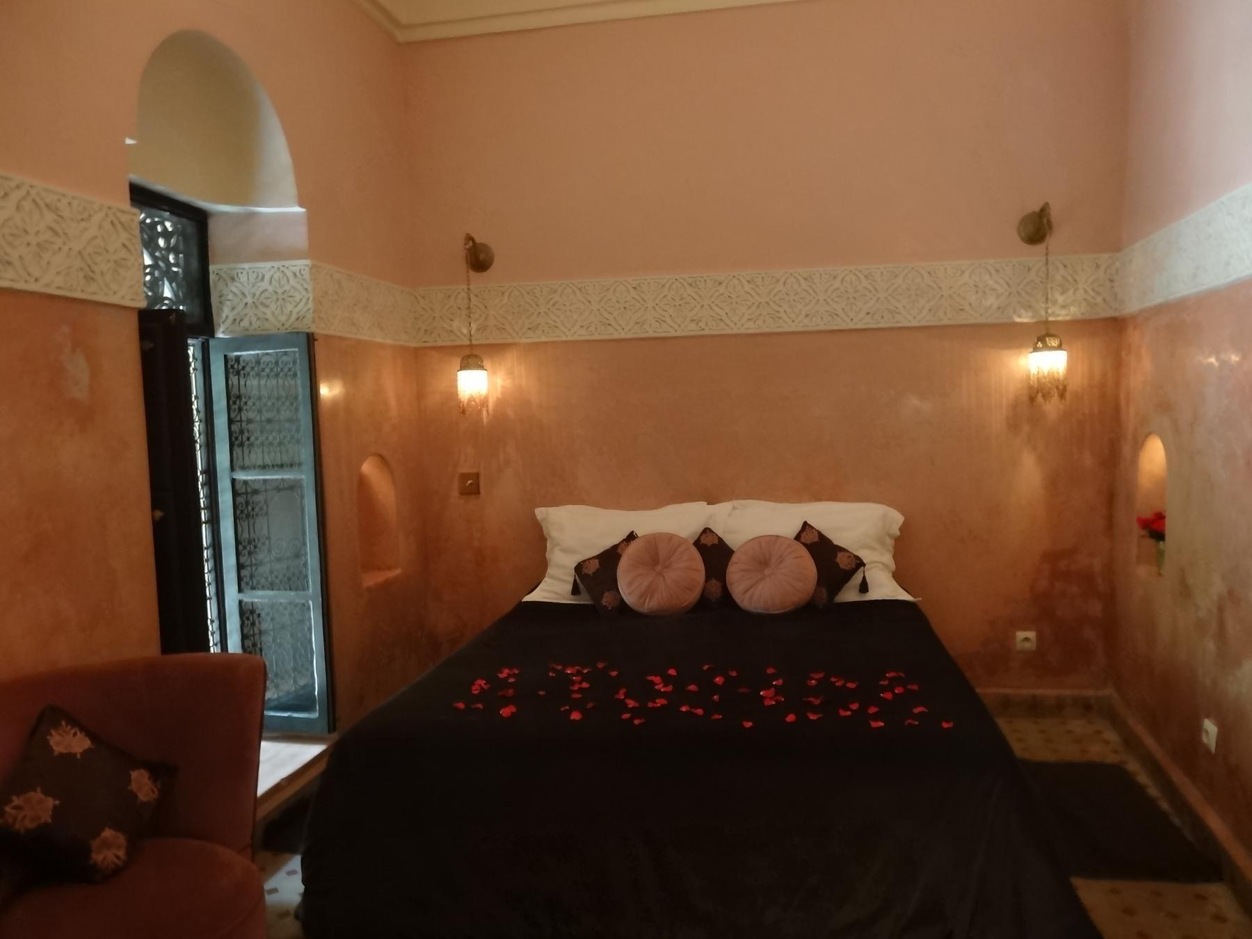 經典Damascan客房(雙人床或兩床) (Damascan Blush Twin or Double Room)