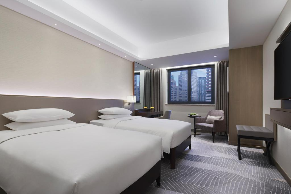 Superior Twin Beds Room - Guestroom Harbour Plaza Hotel