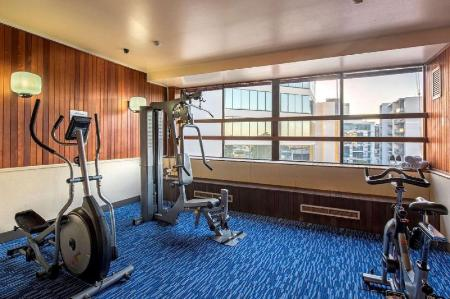 Fitness center Quality Hotel Ambassador Perth