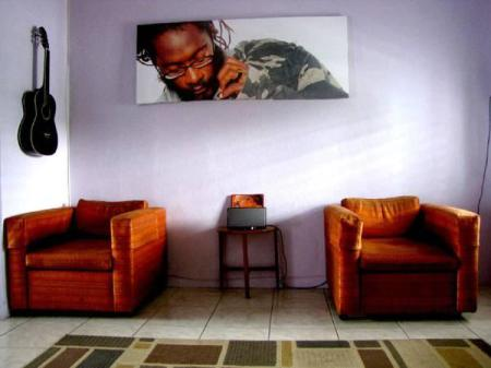 Interior view Reggae Hostel