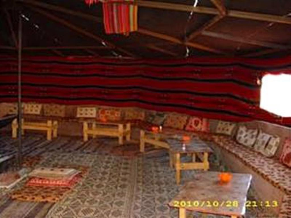 Interior view Bedouin Whispers Camp