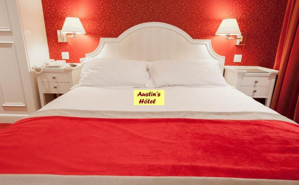 Double For Single Use Non-Smoking - Bed Austin's Arts et Metiers Hotel