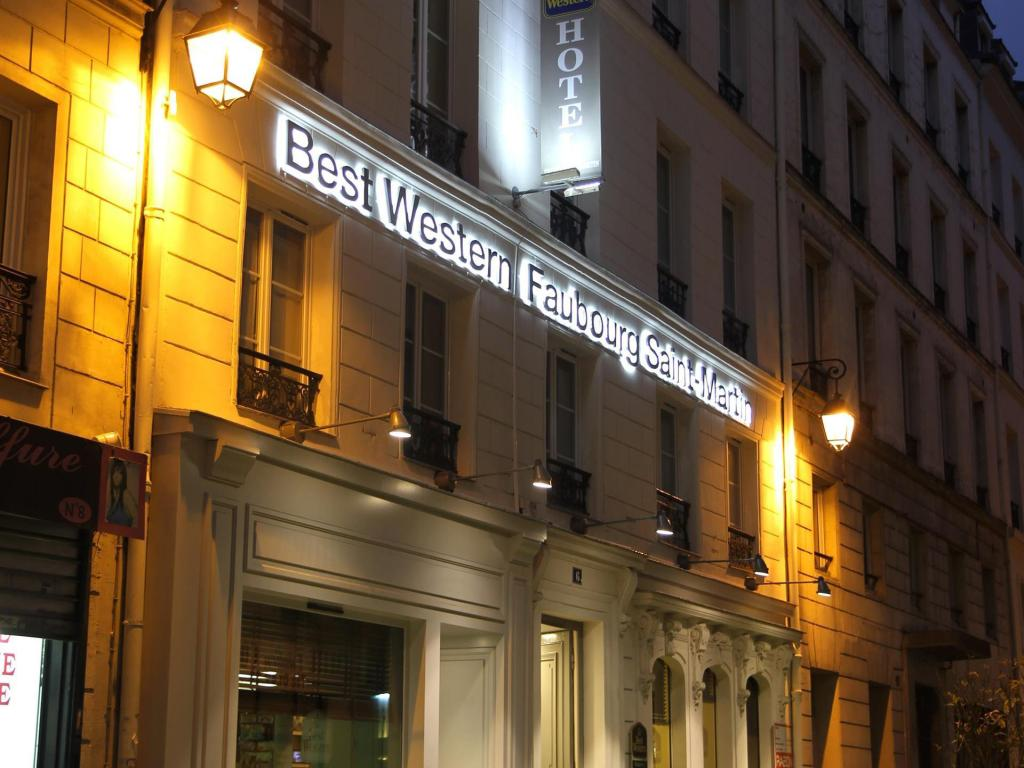 More about Best Western Hotel Faubourg Saint Martin