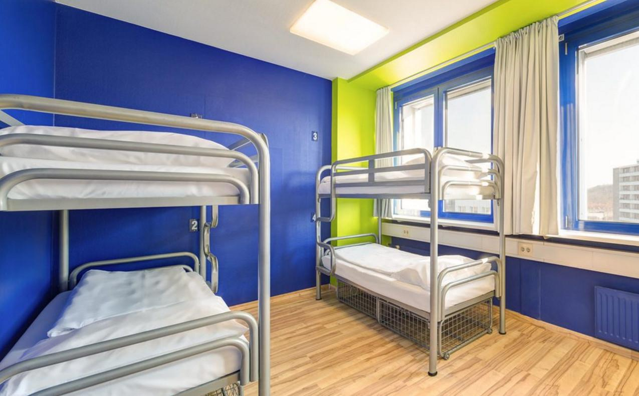 1 Llit en Dormitori Compartit de 4 Llits amb Bany Compartit (Bed in 4-Bed Dormitory Room with Shared Bathroom)