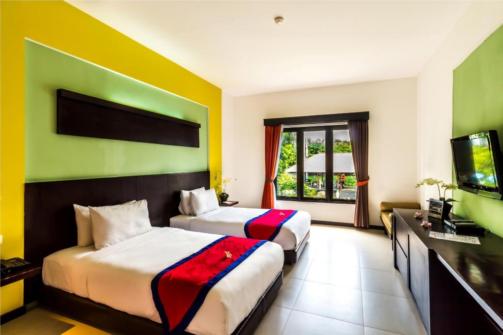 Deluxe Twin Room - View