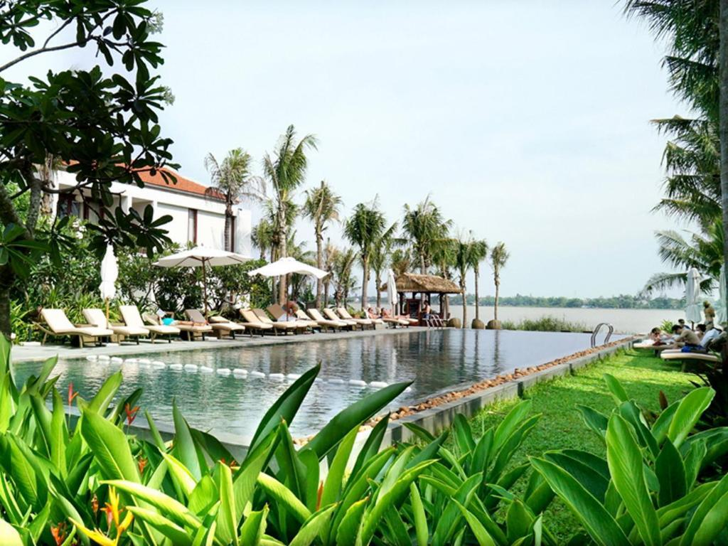 Außenpool Vinh Hung Emerald Resort
