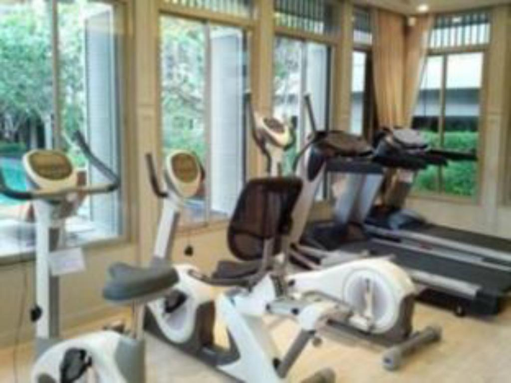 Fitness center 1 Bedroom Suite at National Stadium BTS Station