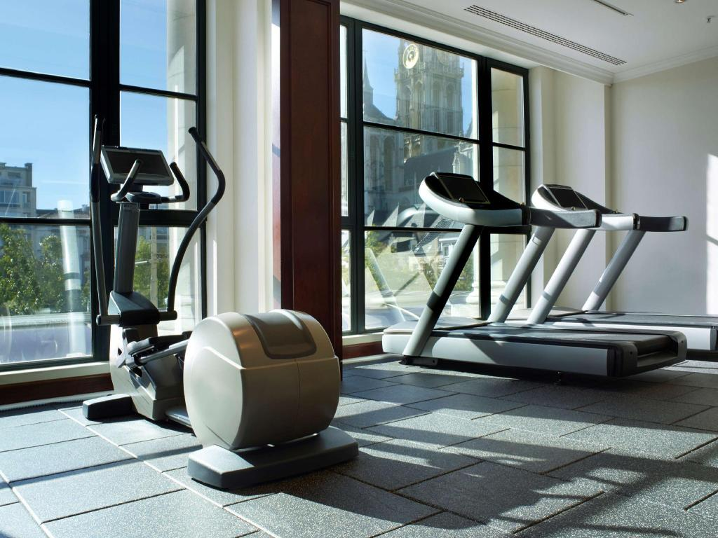Fitness center Hilton Antwerp Old Town Hotel