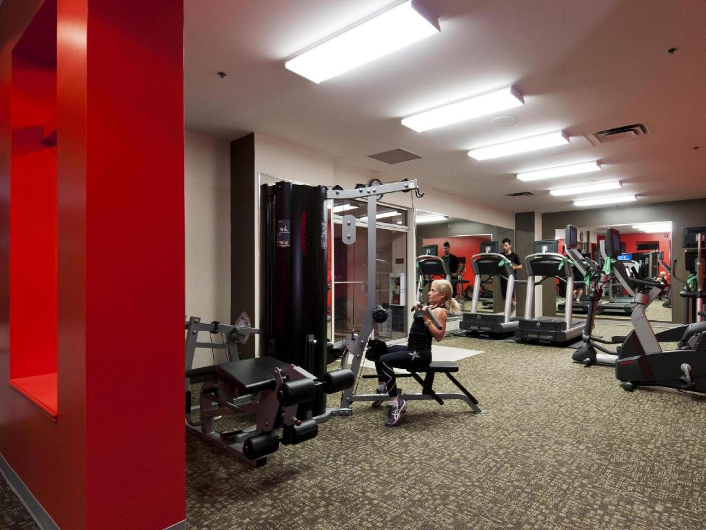 fitness centrum Lord Elgin Hotel