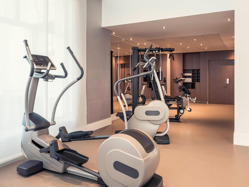Fitness center Mercure Paris Montmartre Sacre Coeur Hotel