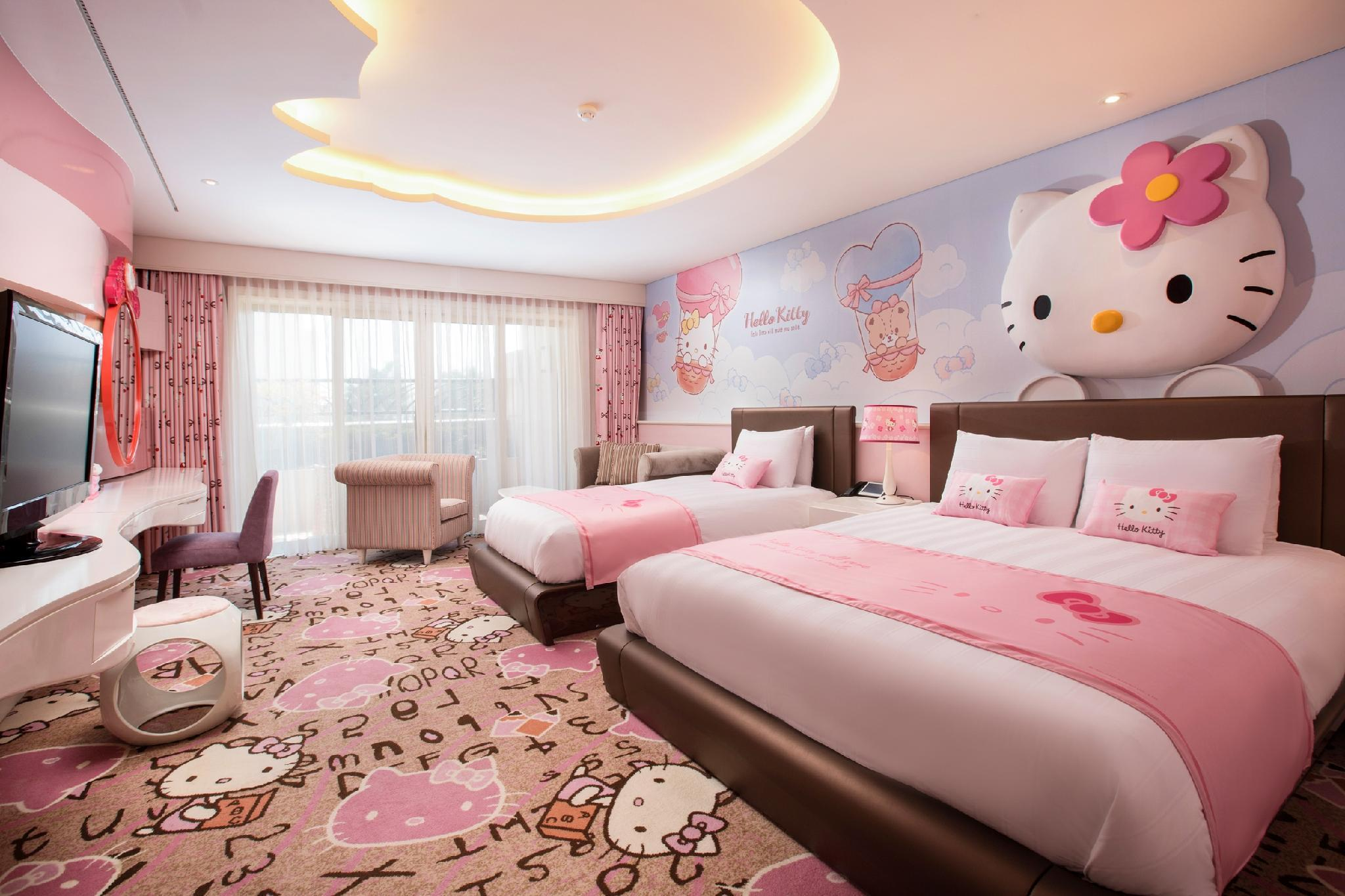 Cameră Hello Kitty - nefumători (Hello Kitty Room - Non-Smoking)