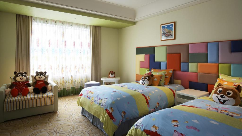 Cameră Character twin - Dormitor Lotte Hotel World