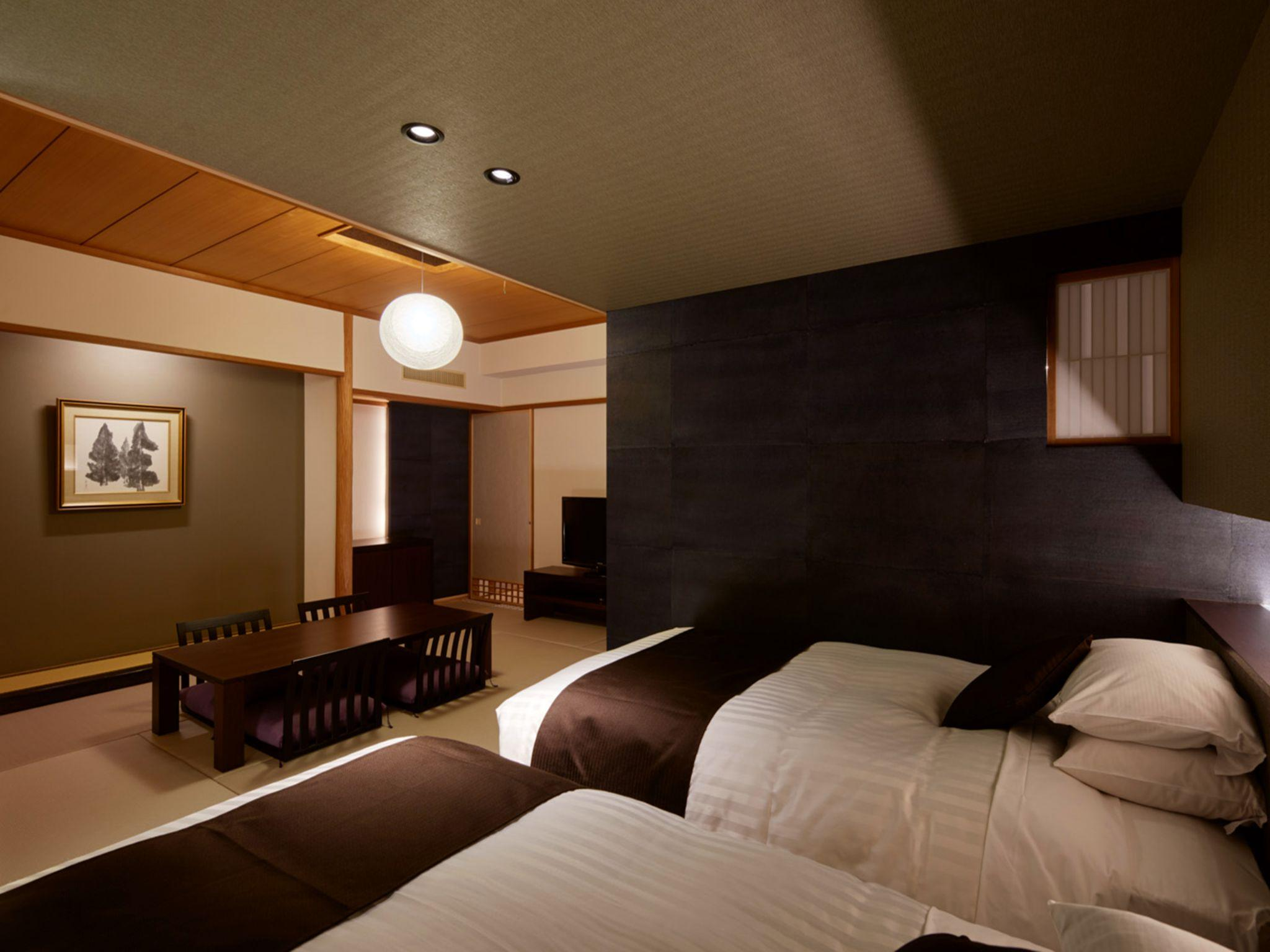 Habitación de estilo japonés occidental para 4 personas ‒ No fumadores (Japanese Western Style Room for 4 People - Non-Smoking)