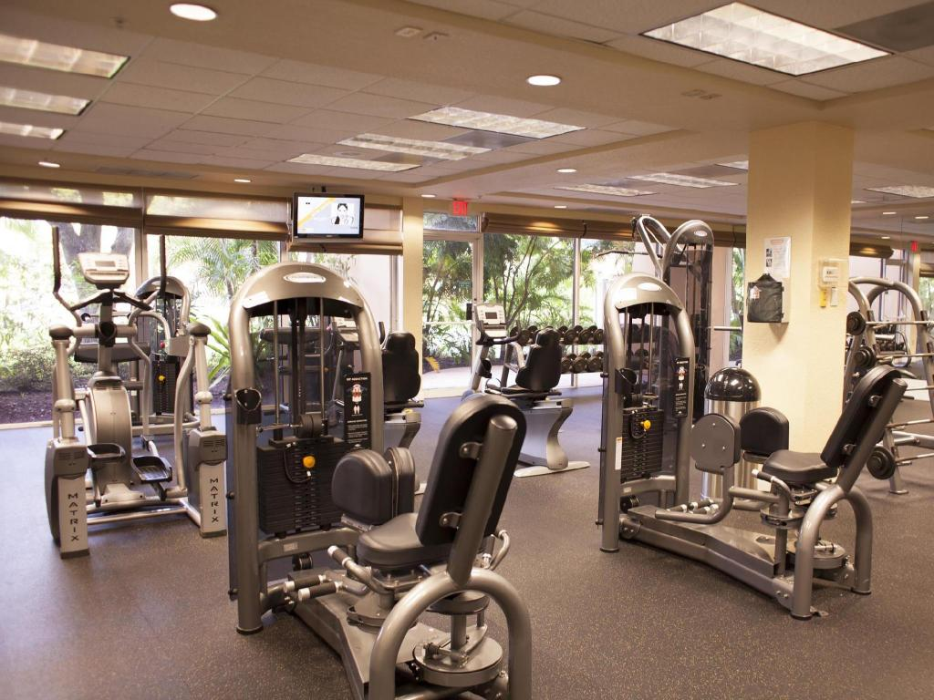Fitness center Palm-Aire Resort