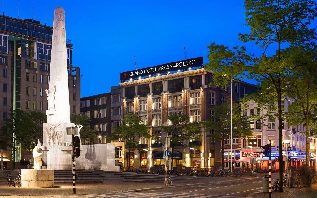 Vista exterior NH Collection Amsterdam Grand Hotel Krasnapolsky