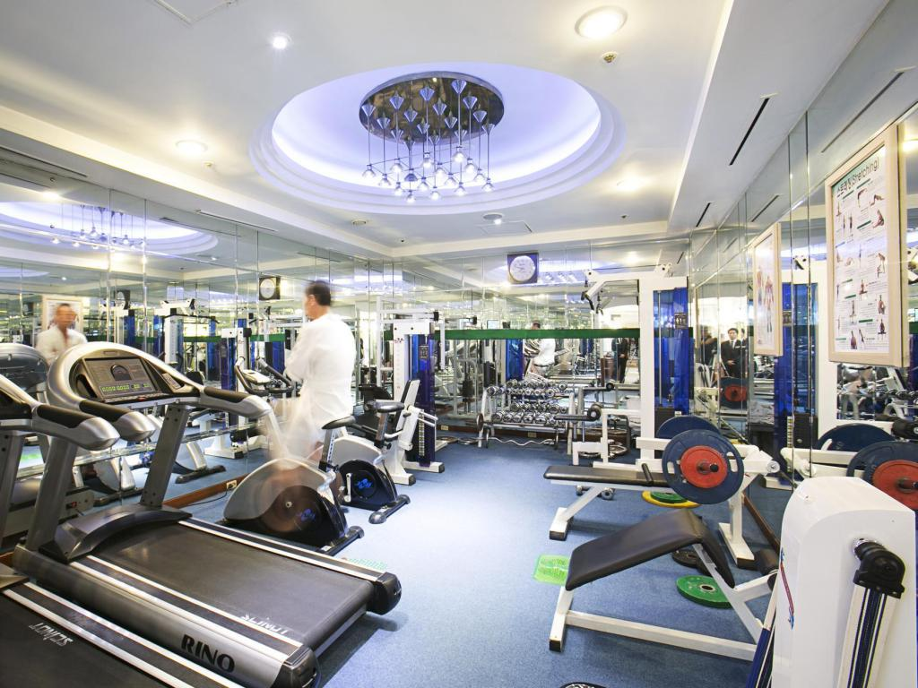 Fitness center Hotel Paragon