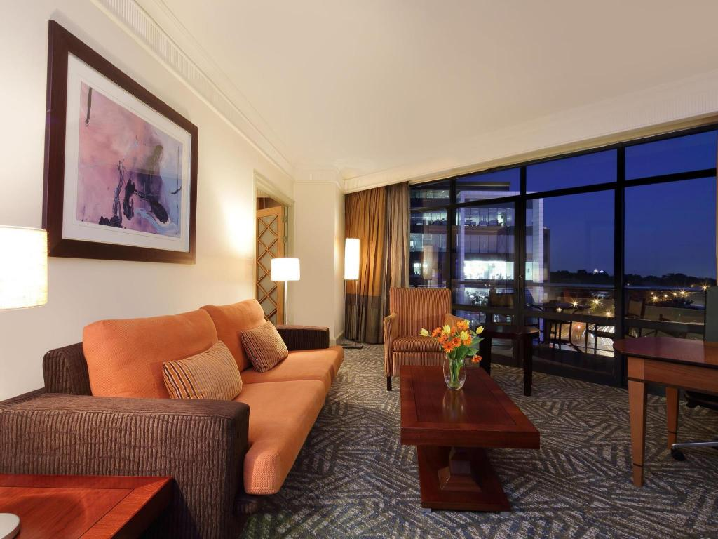 Hotellet indefra Hyatt Regency Johannesburg