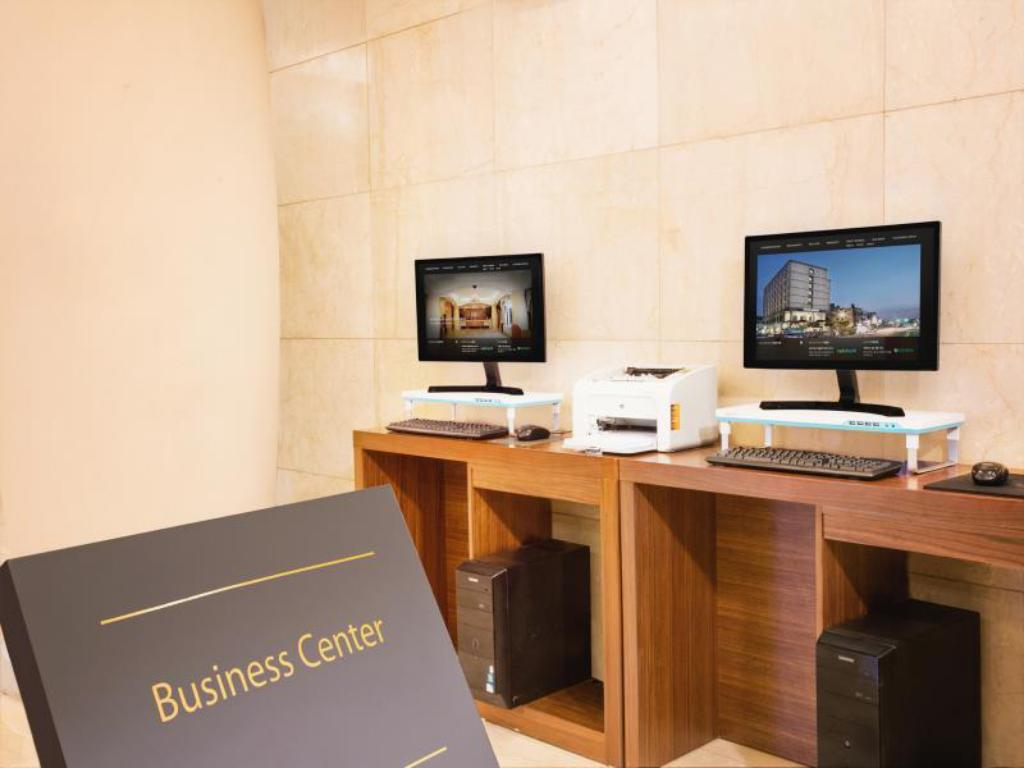 Business Center Robero Hotel Jeju