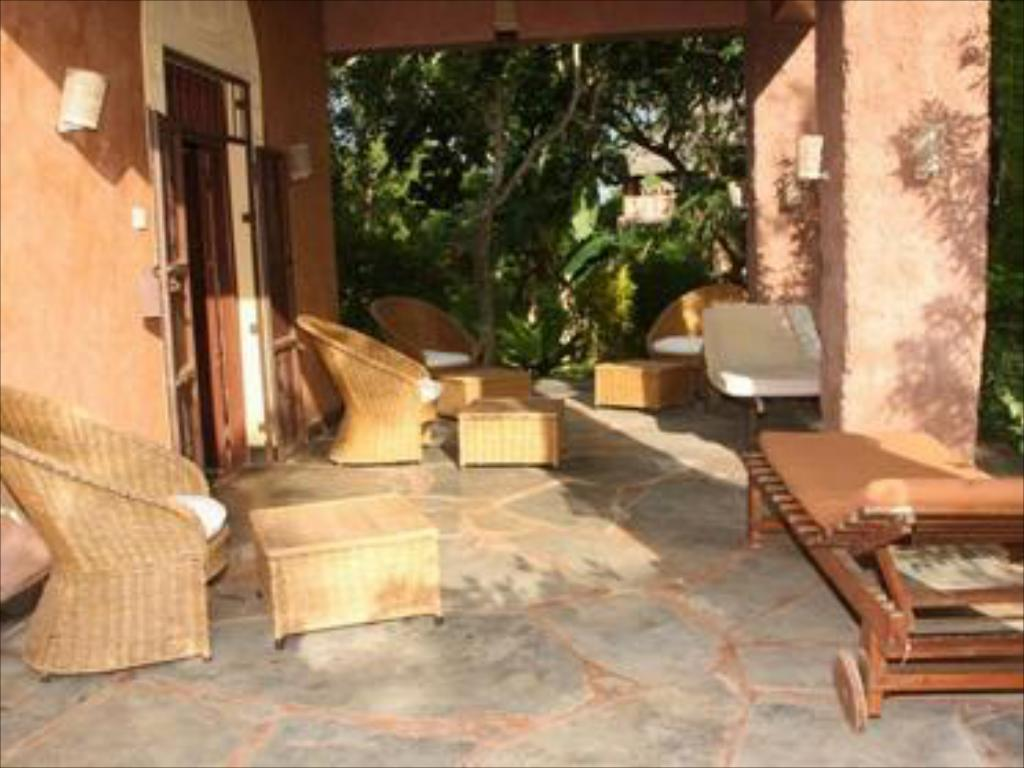 Balkong/terasse Diani Beach Villas Cottages