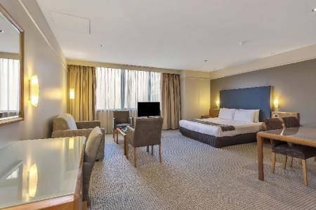Junior Suite - Room plan Stamford Plaza Adelaide