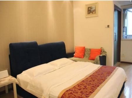 Kamar Fashion Double Chengdu Love Holiday Apartment