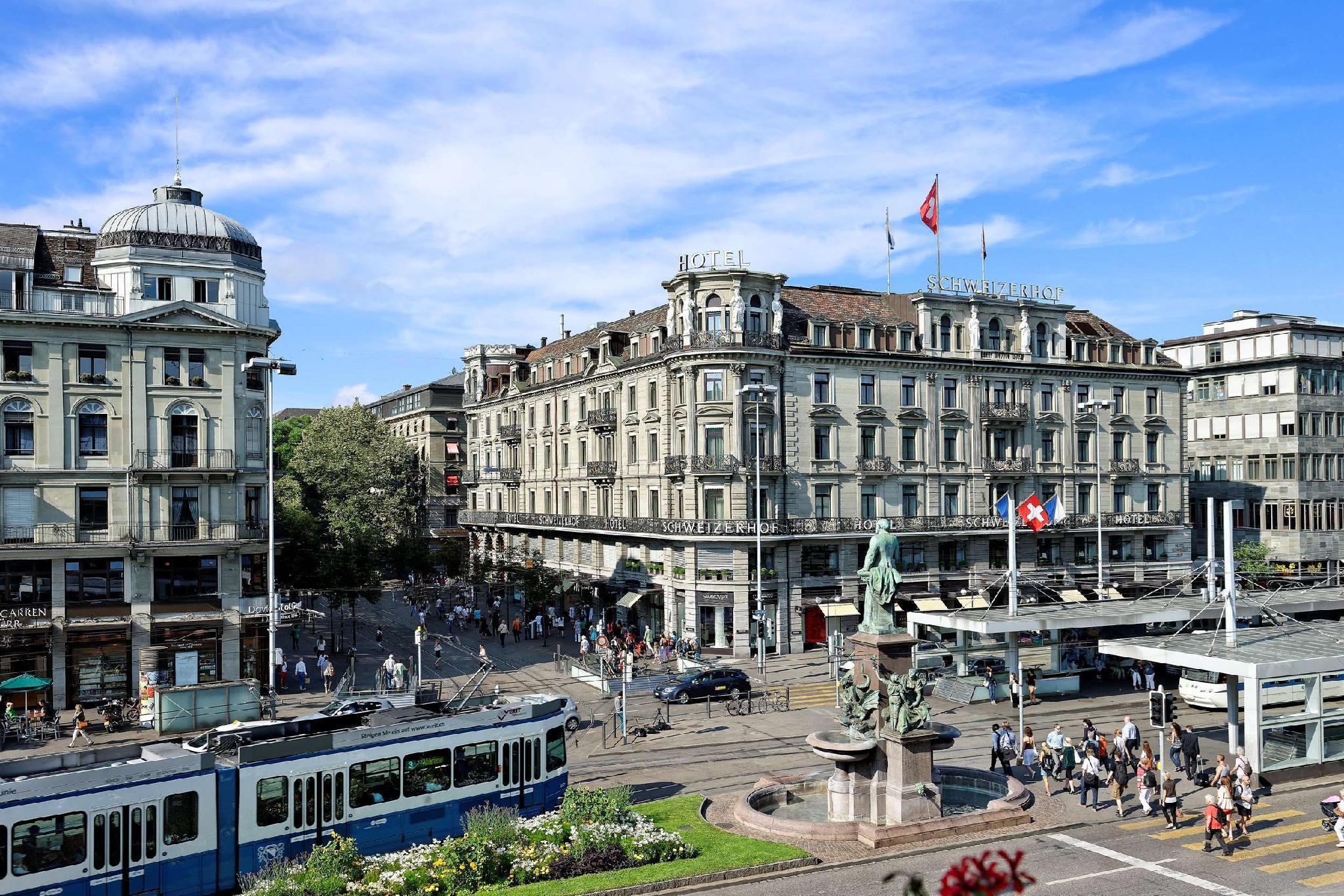 Woman in Zurich