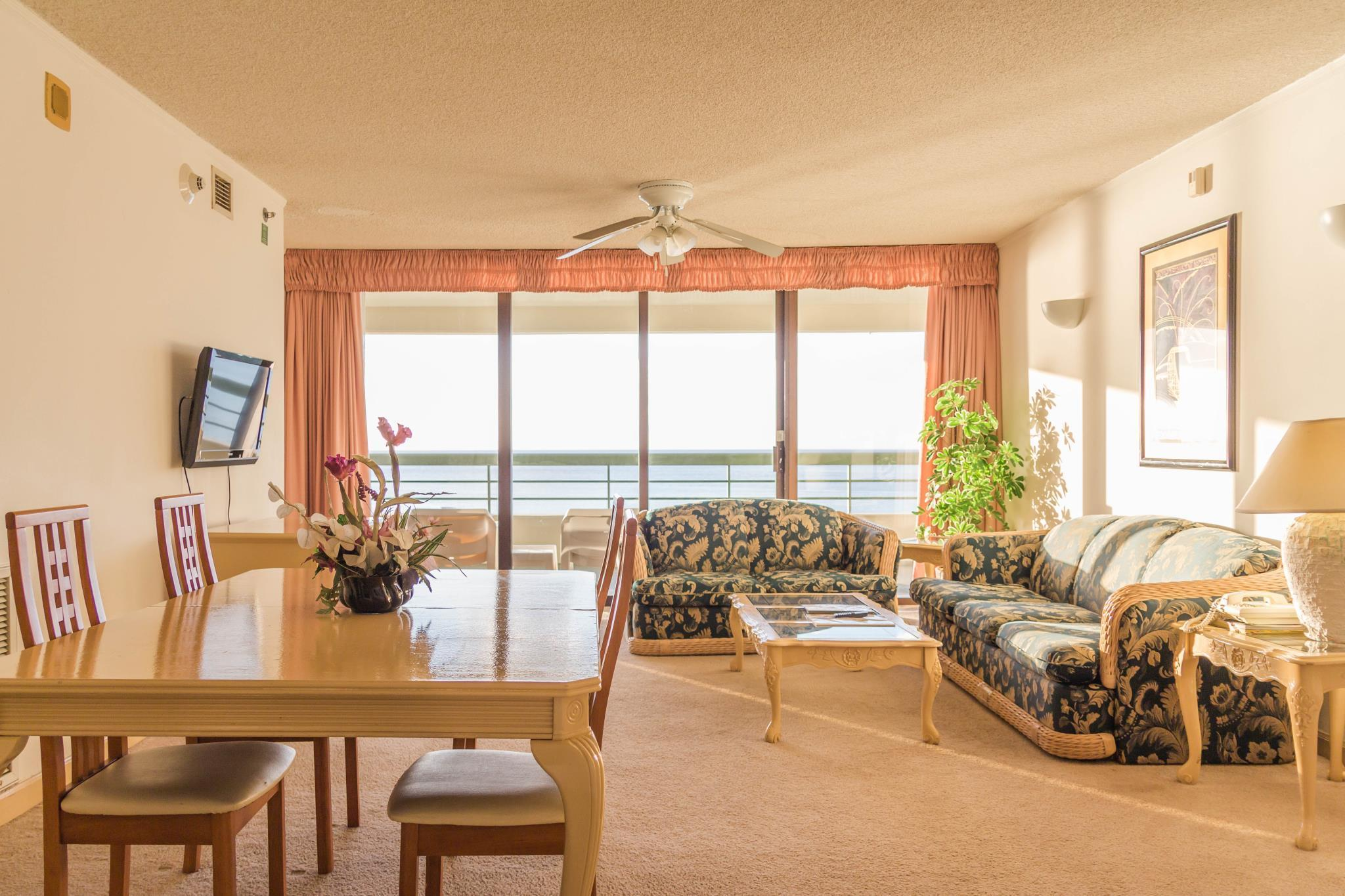 3-Bedroom Oceanfront Apartment