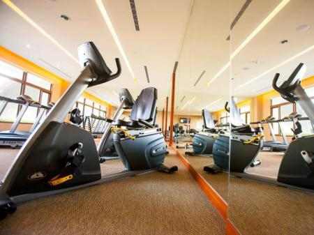 Fitness center Taichung Harbor Hotel