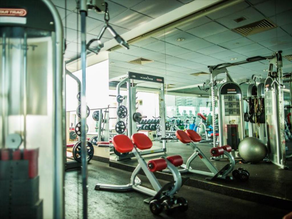 fitness centrum Fortuna Hotel Hanoi