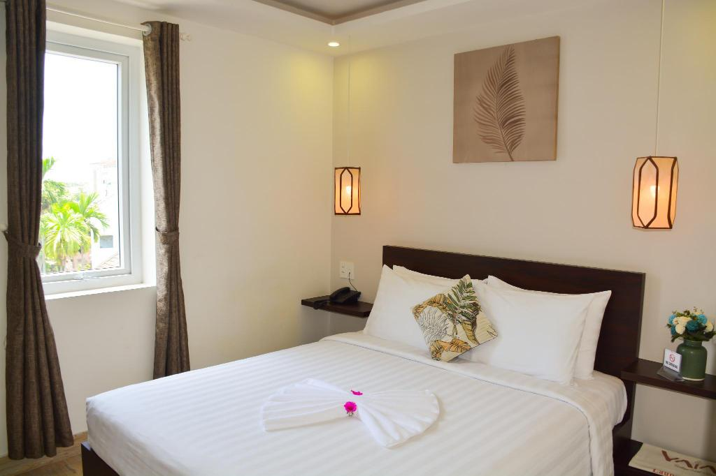 Standard Double Room - Room plan Vaia Boutique Hotel Hoi An